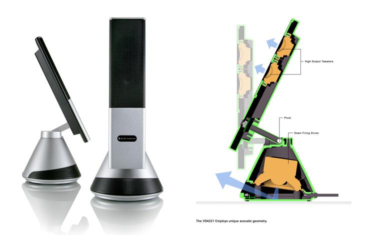 VS4221 Desktop Speaker