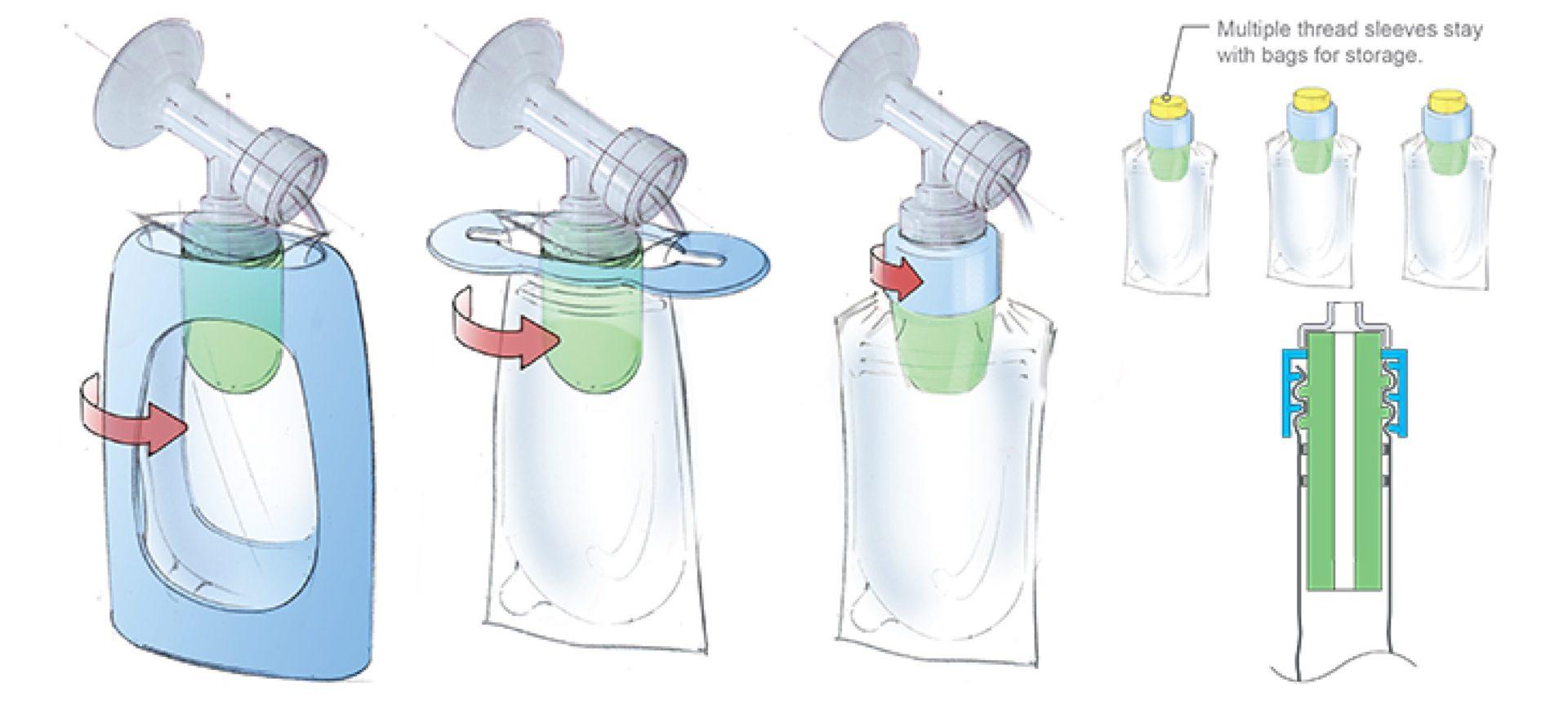 Pump 'n Store Breast Milk Storage Kit