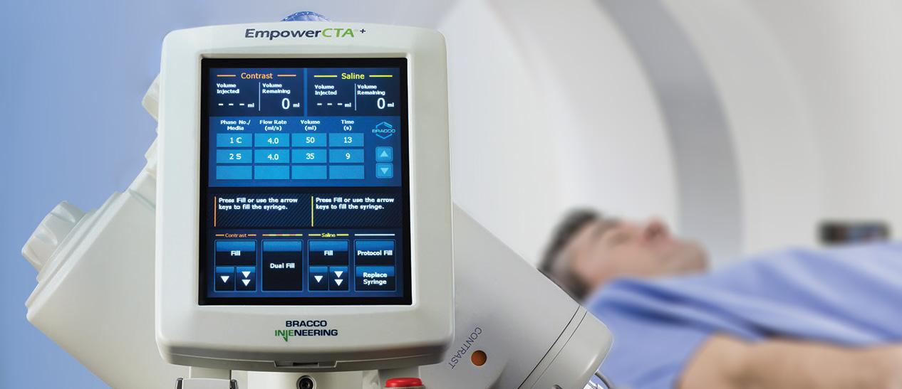 Bracco Diagnostics CTA Injector User Interface