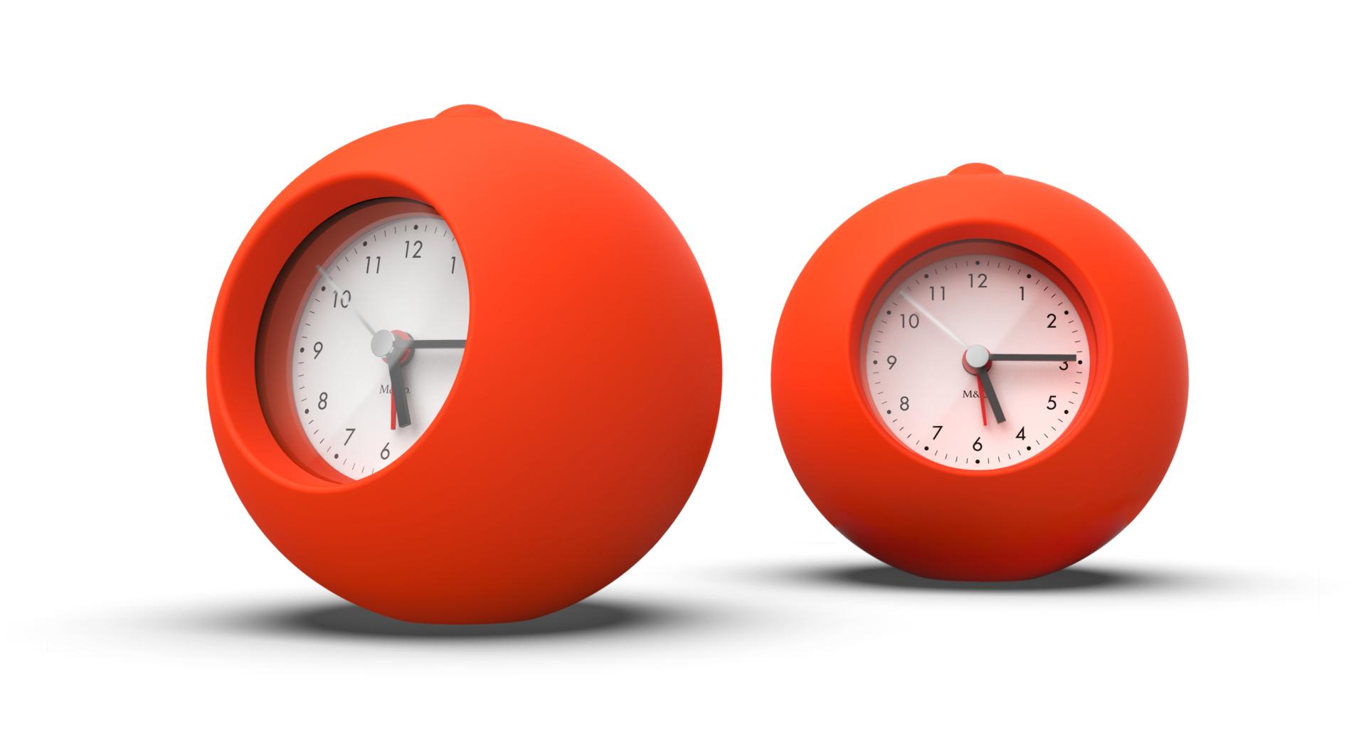 Rubber Bongo Clock